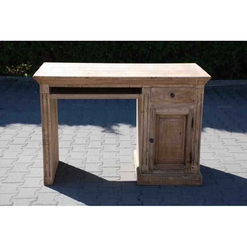 Drewniane biurko loft H 120