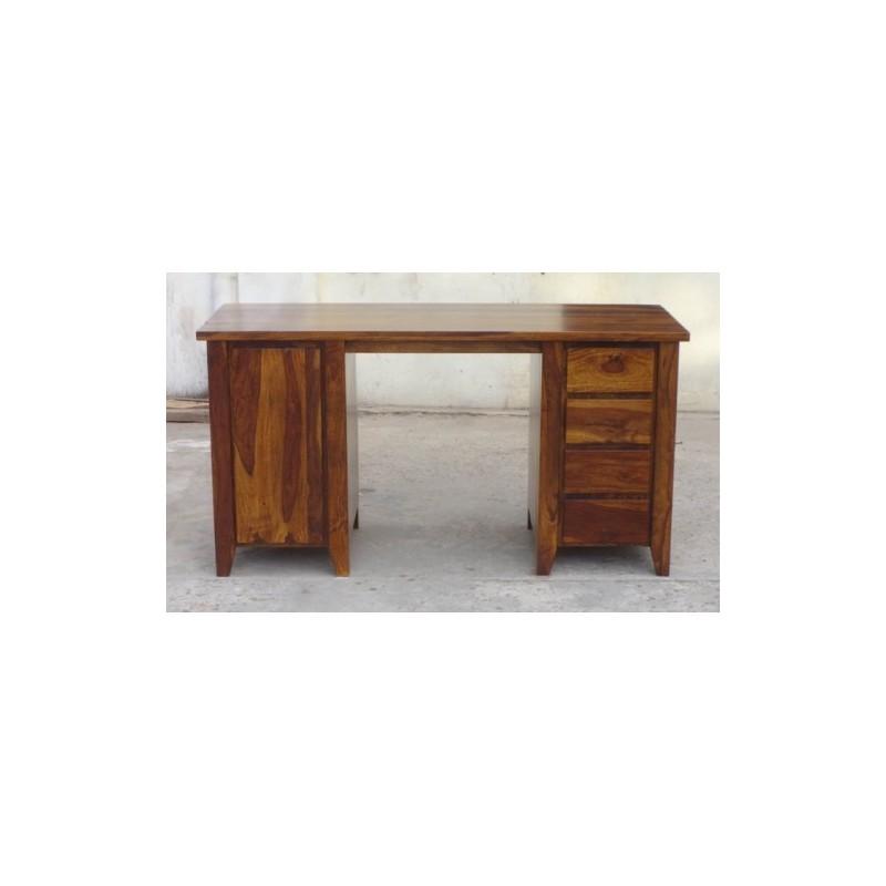 Indyjskie drewniane biurko 150x60x80