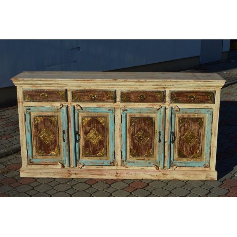 Indyjska drewniana Komoda 90x180