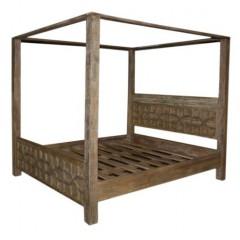 Antyczne łóżko