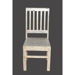 Kolonialne drewniane krzesło 100