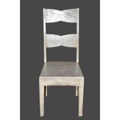 Kolonialne drewniane krzesło 110