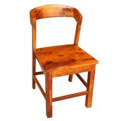 Indyjskie drewniane krzesło 79