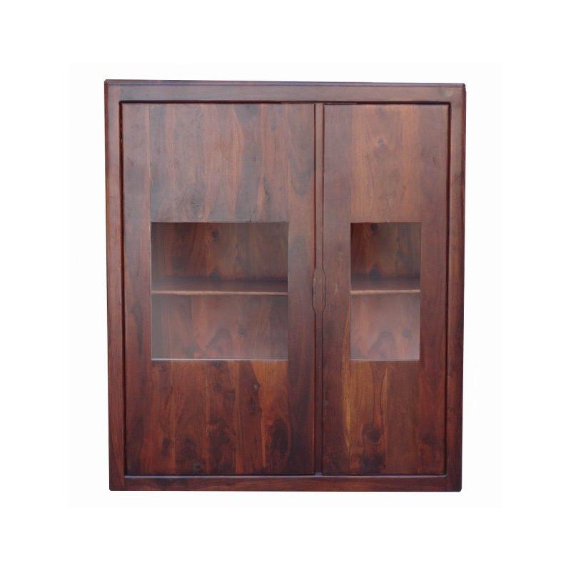 Indyjska drewniana Witryna 150x130