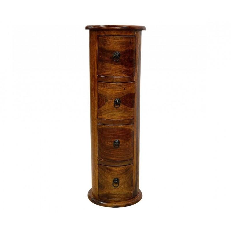 Drewniany Słupek z szufladani 90