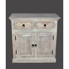 Klasyczna drewniana komoda 90x90