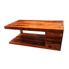 Drewniany kolonialny Stolik 45x120x60