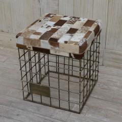 Taboret industrial/loft 47x41