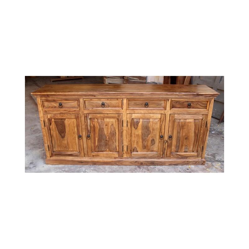 Drewniana komoda indyjska 90x200