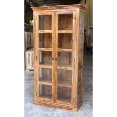 Indyjska drewniana witryna 200x100