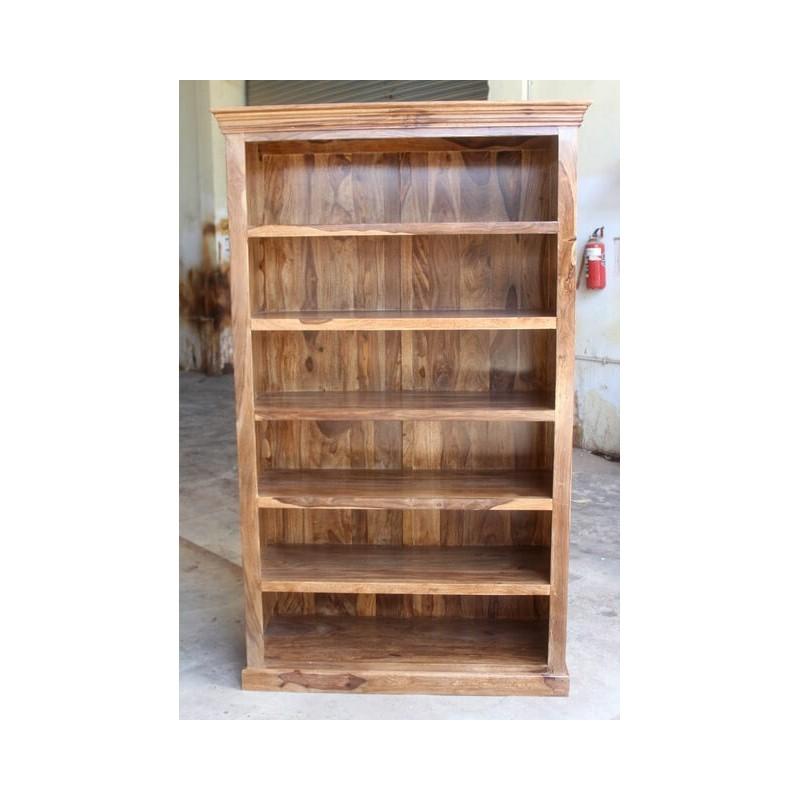 Klasyczny drewniany regał 200x120