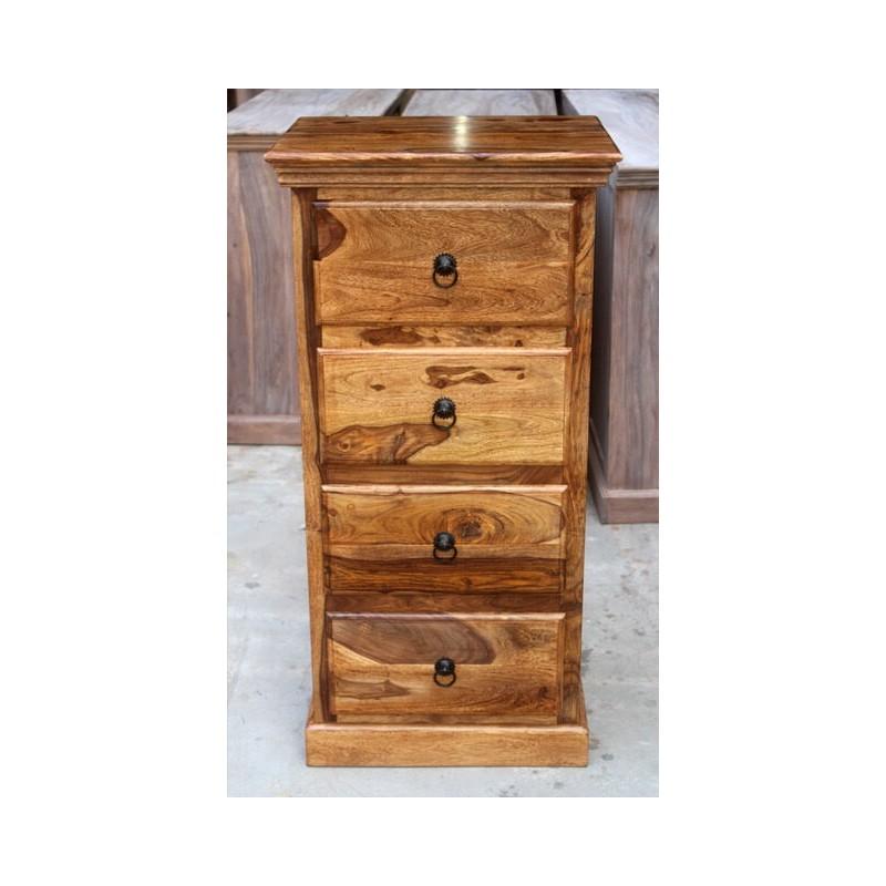 Indyjska komoda drewniana 110x55