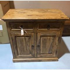Klasyczna kolonialna drewniana komoda 90x90