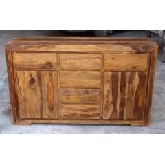 Indyjska drewniana komoda 90x150x40