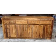 Kolonialna komoda z drewna 90x40x200