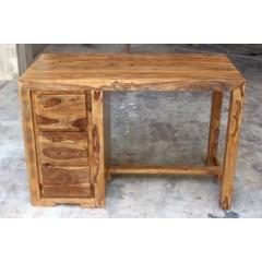 Drewniane indyjskie biurko 80x120x60