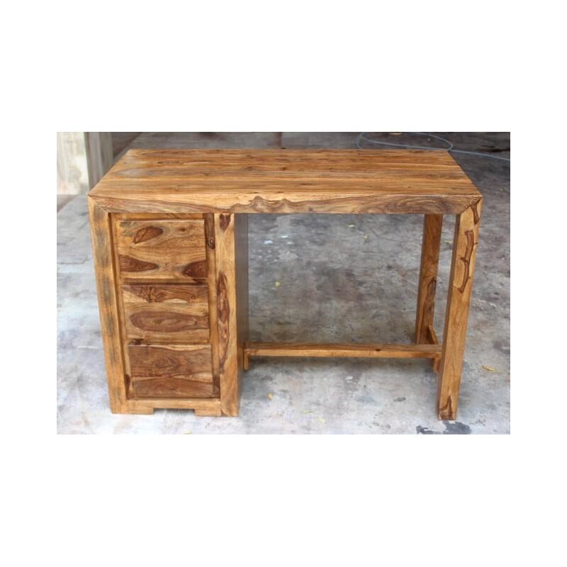 Drewniane Indyjskie Biurko 80x120x60 Nel Meble