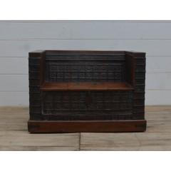 Indyjska drewniana sofa 127x76x45
