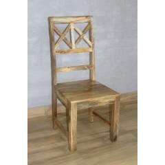 Krzesło z drewna mango 110