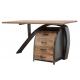 Industrialne indyjskie biurko 79x143x77