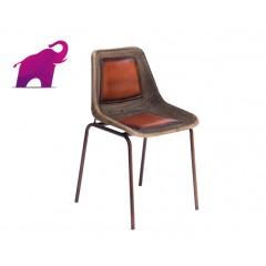 Metalowe krzesło LOFT 78x46x46