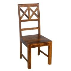 Drewniane palisandrowe krzesło 45x48x105