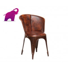 Indyjskie industrialne krzesło