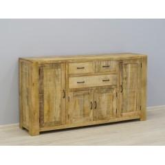 Drewniana indyjska komoda 175X45X95