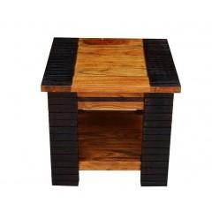 Stolik z drewna akacji HN 50x45x50