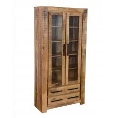 Drewniana rustykalna witryna 200x100x40