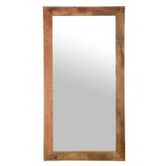 Drewniane rustykalne lustro 175x90