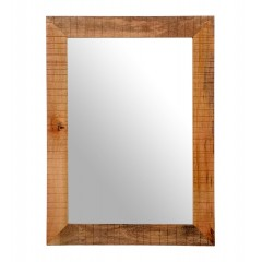 Drewniane rustykalne lustro 110x80
