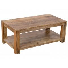 Rustykalny indyjski stolik 110x60x45