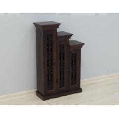 Drewniany stojak na CD 60X23X91