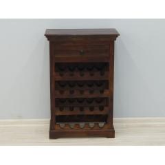 Drewniana szafka na wino 60X30X90