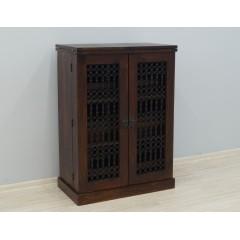 Drewniana komoda na wino 90X52X127
