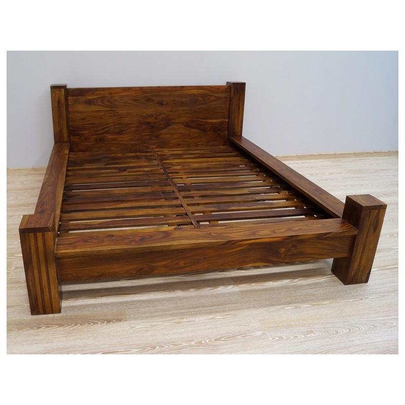 Drewniane indyjskie łóżko 160x200