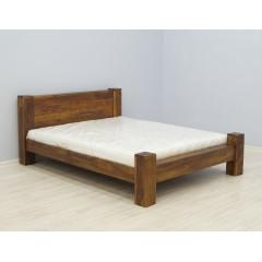 Palisandrowe indyjskie łóżko 160x200