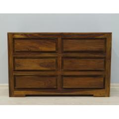 Drewniana indyjska komoda 118X45X75