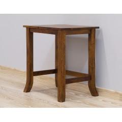 Duży drewniany stolik 52X32X57