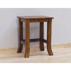 Średni drewniany palisandrowy stolik 37X32X47