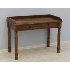 Drewniane indyjskie biurko 110X56X80