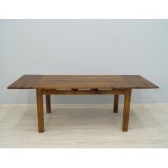 Indyjski drewniany rozkładany stół 150X90X76