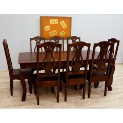 Drewniany komplet obiadowy 200X100X76
