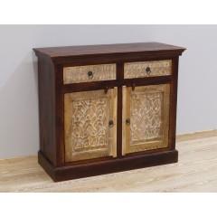 Antyczna drewniana komoda 105X45X90