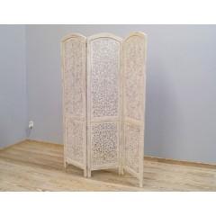 Indyjski drewniany parawan 180X2X182