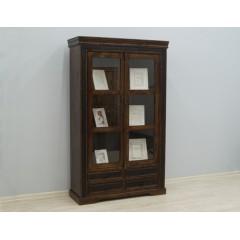 Drewniana indyjska witryna 120X45X200