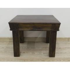 Indyjski drewniany stolik 60X60X48