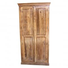 Klasyczna kolonialna drewniana szafa 200x100