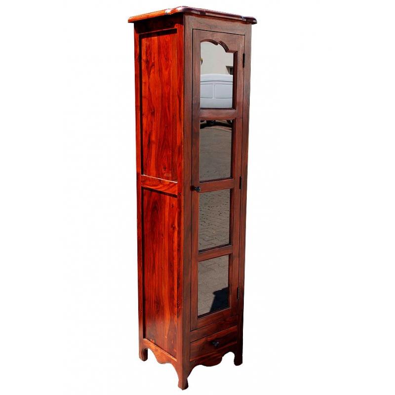 Klasyczna drewniana Witryna 190x50x45